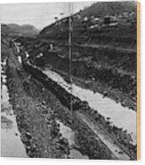 Panama Canal, 1908 Wood Print
