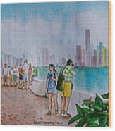Panama City Panama Wood Print