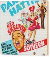 Panama Hattie, Us Poster, Center Wood Print