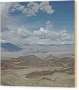 Panamint Valley Wood Print