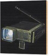 Panasonic Portable Tv Wood Print