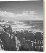 Pancake Rocks Punakaiki West Coast Nz Wood Print