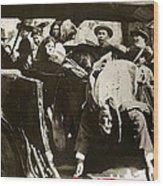 Pancho Villa Ambushed July 20 1923 1923 Dodge Touring Car 1923-2013 Wood Print