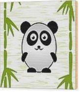 Panda - Animals - Art For Kids Wood Print