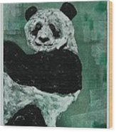 Panda - Monium Wood Print