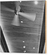 Paneled Ceiling Fans Wood Print