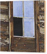Panes Of Yesteryear Wood Print
