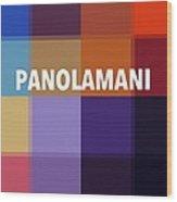 Panolamani  Wood Print