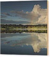 Panorama, Anangurocha Lake, Lagoon Wood Print