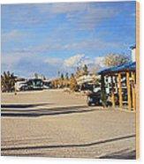 Panorama Cedar Cove Rv Park Street 3 Wood Print