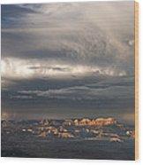 Panorama Clearing Summer Storm Bryce Canyon National Park Utah Wood Print
