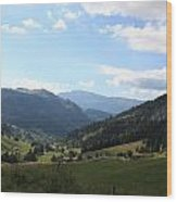 Panorama Wood Print