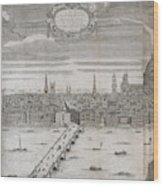 Panorama Of London Wood Print