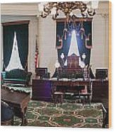 Panorama Of The Vermont State House Montpelier Vermont Wood Print
