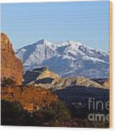 Panorama Point Capitol Reef National Park Utah Wood Print