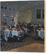 Panorama Wedding Wood Print