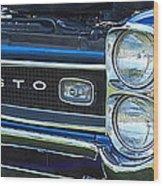 panoramic blue GTO Wood Print