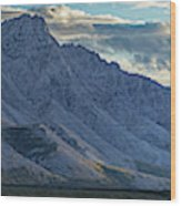 Panoramic Image Of Royal Mountain Wood Print