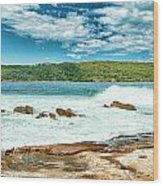 Panoramic Photo Of La Perouse Wood Print