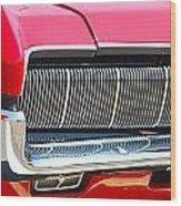 panoramic red Cougar Wood Print