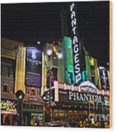 Pantages Theater Wood Print