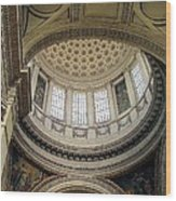 Pantheon Architecture Wood Print