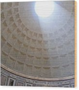 Pantheon Dome Wood Print