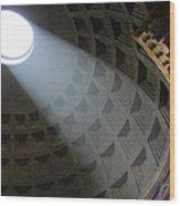 Pantheon Light Wood Print
