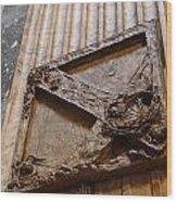 Pantheon Plaque Wood Print