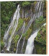 Panther Creek Falls 2- Washington Wood Print