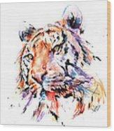Panthera Tiger II Wood Print