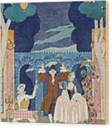 Pantomime Stage Wood Print