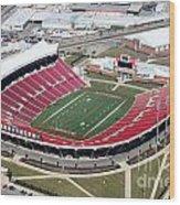 Papa John's Cardinal Stadium South Louisville Kentucky Wood Print