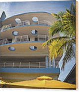 Congress Hotel Of South Beach Wood Print