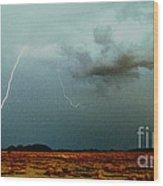 Tohono O'odham Reservation Wood Print