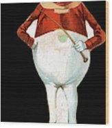 Paper Doll, C1895 Wood Print