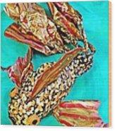 Paper Fish Wood Print