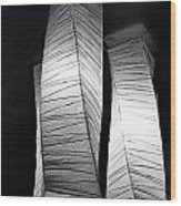 Paper Lampshades Wood Print by Bob Wall