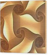 Paper Lantern Abstract Wood Print