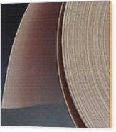 Paper Roll Wood Print