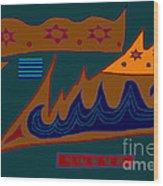 Paphababha Wood Print