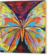 Papillon Colore Wood Print