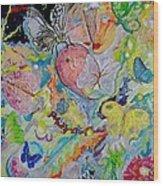 Papillons Wood Print