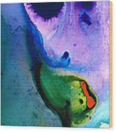 Paradise Found - Colorful Abstract Painting Wood Print