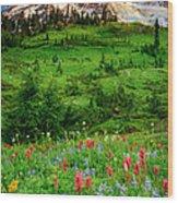 Paradise Wood Print