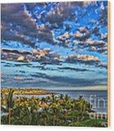 Paradise Is Nice By Diana Sainz Wood Print