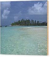Paradise Island 1 Wood Print