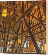 Paradise Lodge Mt Rainier Natl Park Wood Print