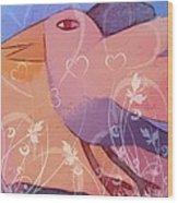 Paradiso Bird Wood Print