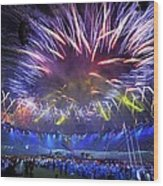 Paralympics 2012 Closing Ceremony Wood Print